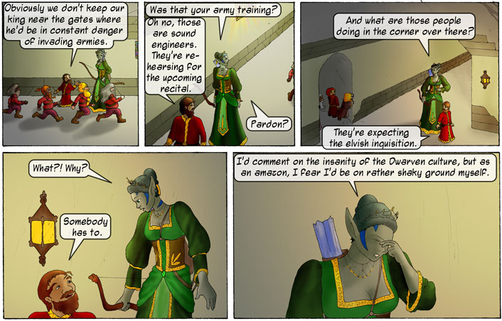 Crazy Dwarves