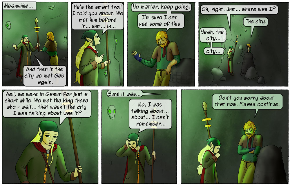 Forgetful Little Elf