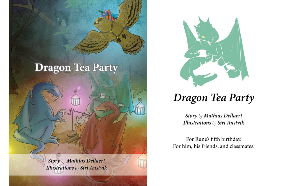 Dragon Tea Party - Cover