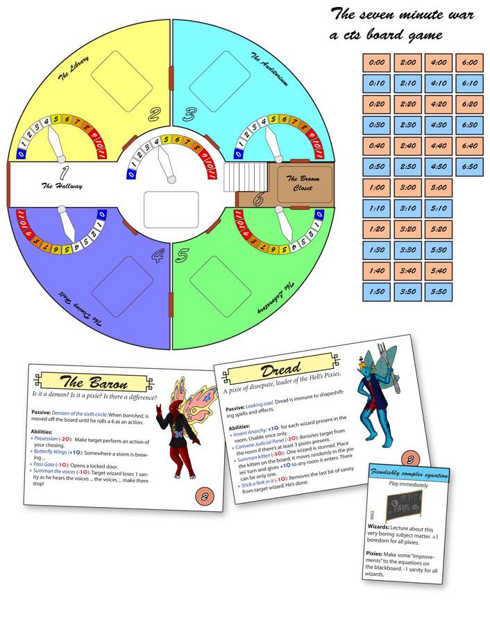 Filler: The seven minute war board game