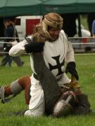 Wrestling knights
