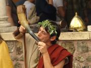 Ancient hornblower