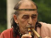 Ancient fluteplayer