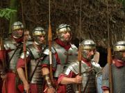 Roman soldier line